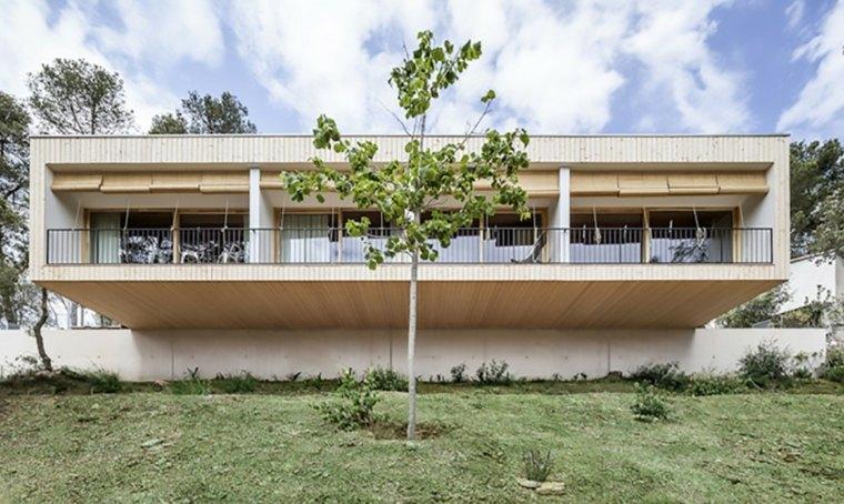 españa casa moderna vegetacion verde