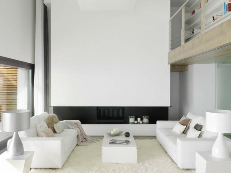 espacio blanco salones preciosos puro amplio ideas
