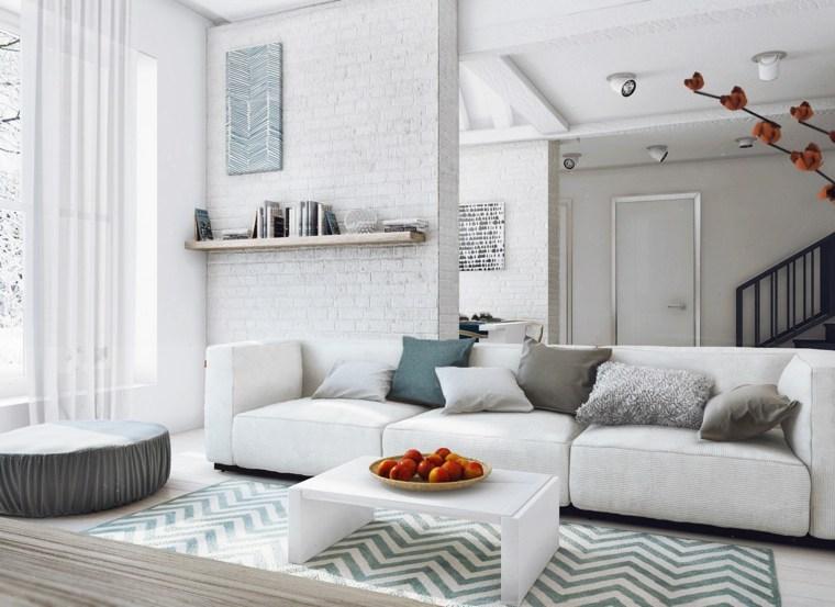espacio en blanco salones preciosos alfombra preciosa ideas