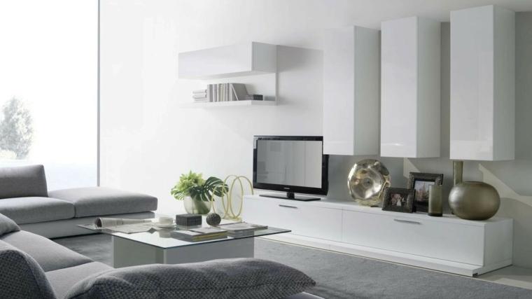 espacio en blanco salones preciosos detalles color ideas