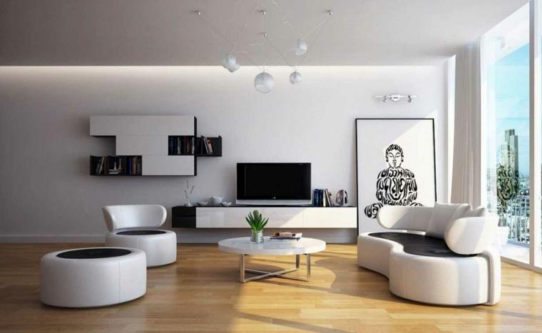 espacio en blanco salones preciosos sofa sillon moderno ideas
