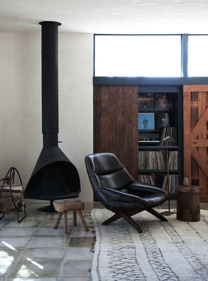 estilos colores plantas soluciones maderas negro