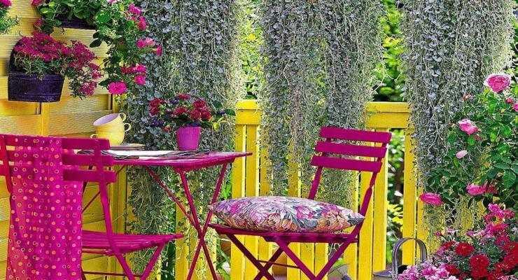 balcones terrazas deco colores