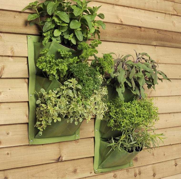 estupendas bolsas jardineras verticales