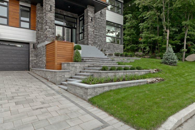 estupendo diseño jardin casa