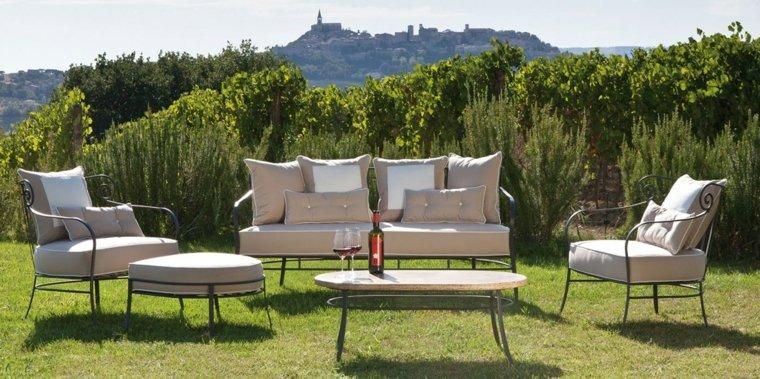 estupendo diseño muebles jardin