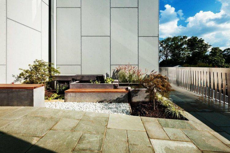 estupendo diseño terraza moderna