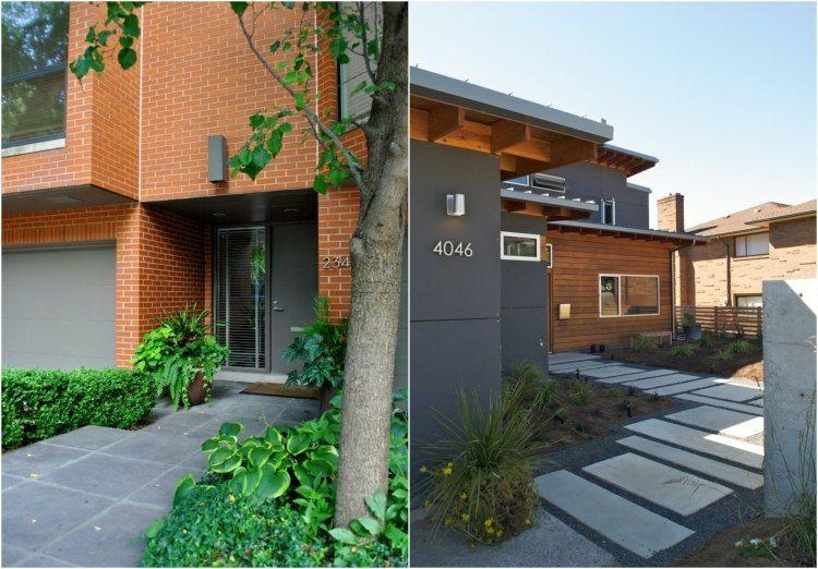 estupenda casa moderna jardin diseño