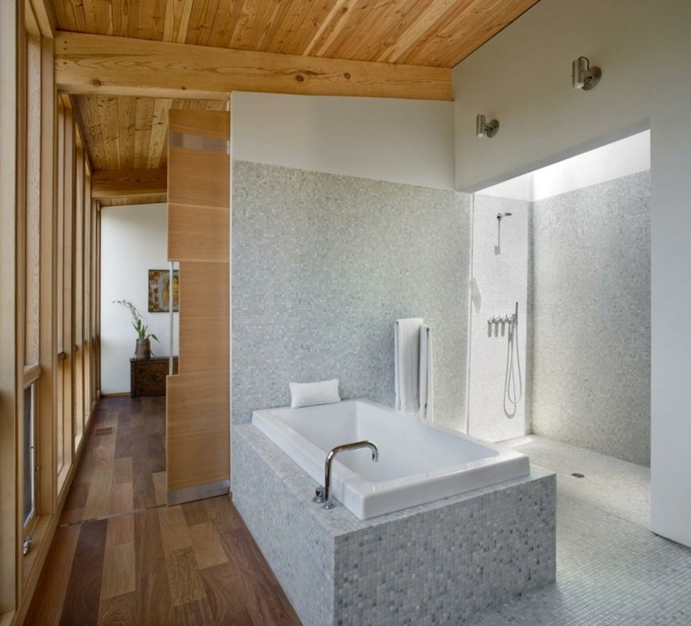 estupendo diseño cuarto baño