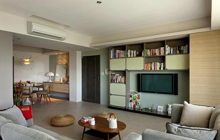 estupendo diseño salon moderno