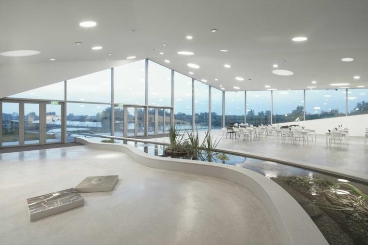 estupenda arquitectura cubiertas moderna interior