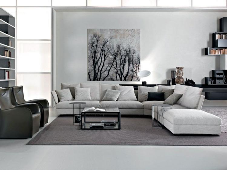 estupendo diseño gris blanco