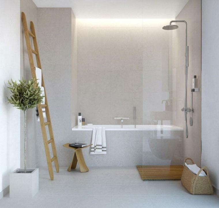 Ba os minimalistas la grandeza de lo m s simple - Cuartos de bano beige ...