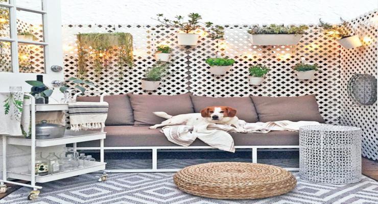 terrazas modernas adornos accesorios