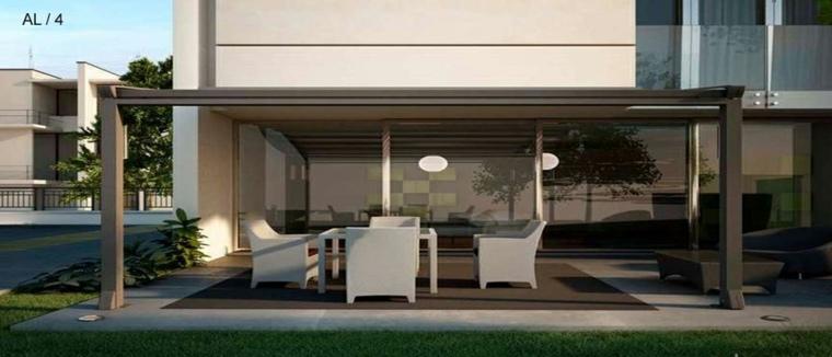 Porches jardin y terrazas cubiertas 50 dise os - Porche diseno ...