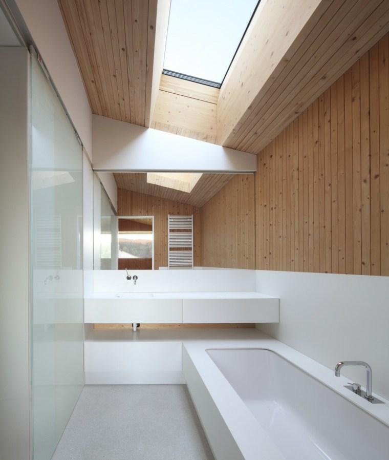 estupendo diseño blanco madera