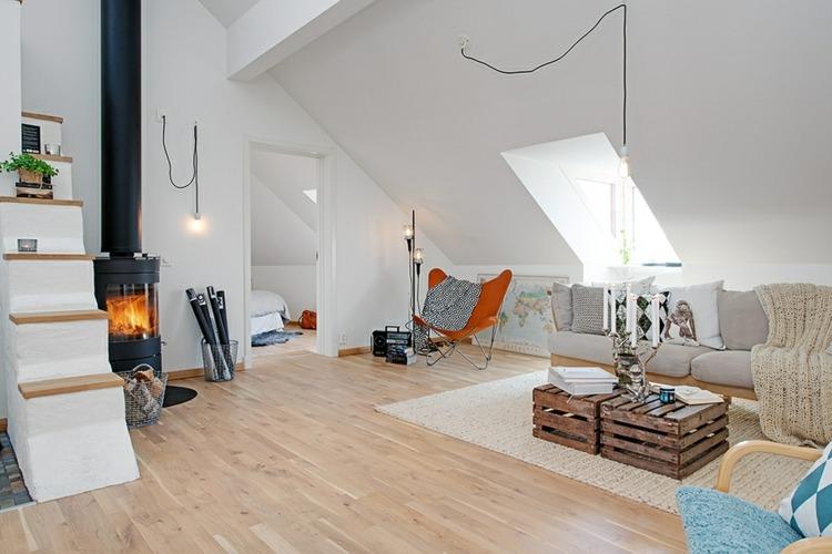 estupendo interior moderno nórdico
