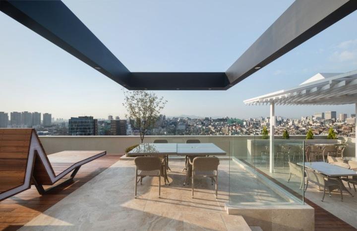 exteriores calidos paredes cristales terraza
