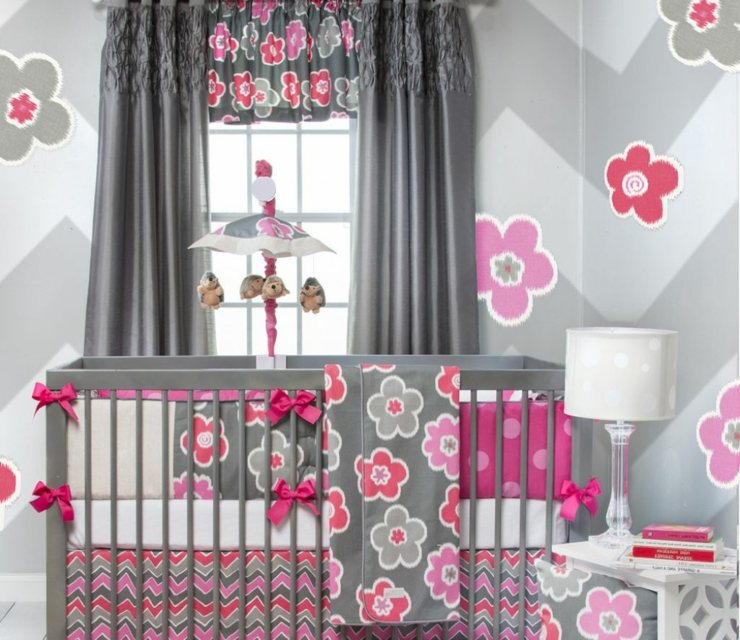 flores paredes decorados ideas tendencias grises