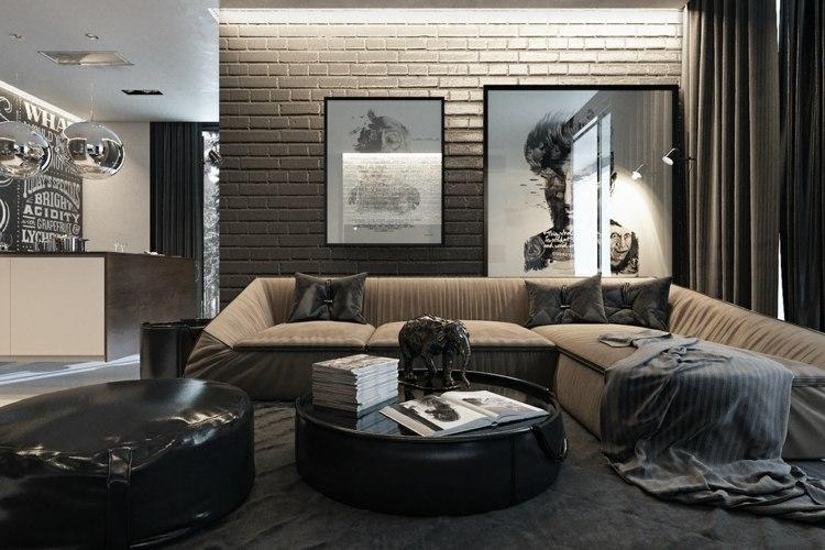 focales tendencias molinos salas paredes grises