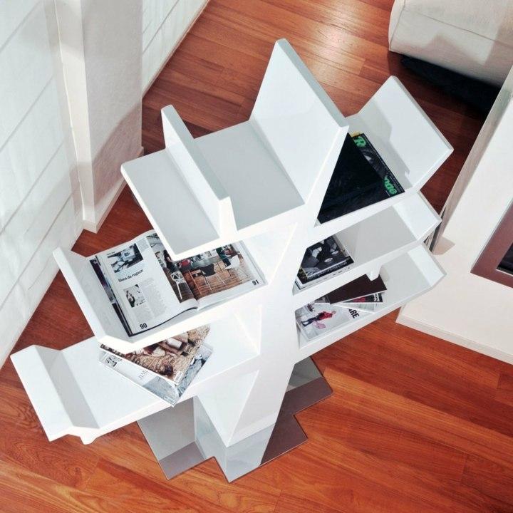formas creativas salones estilos libreros