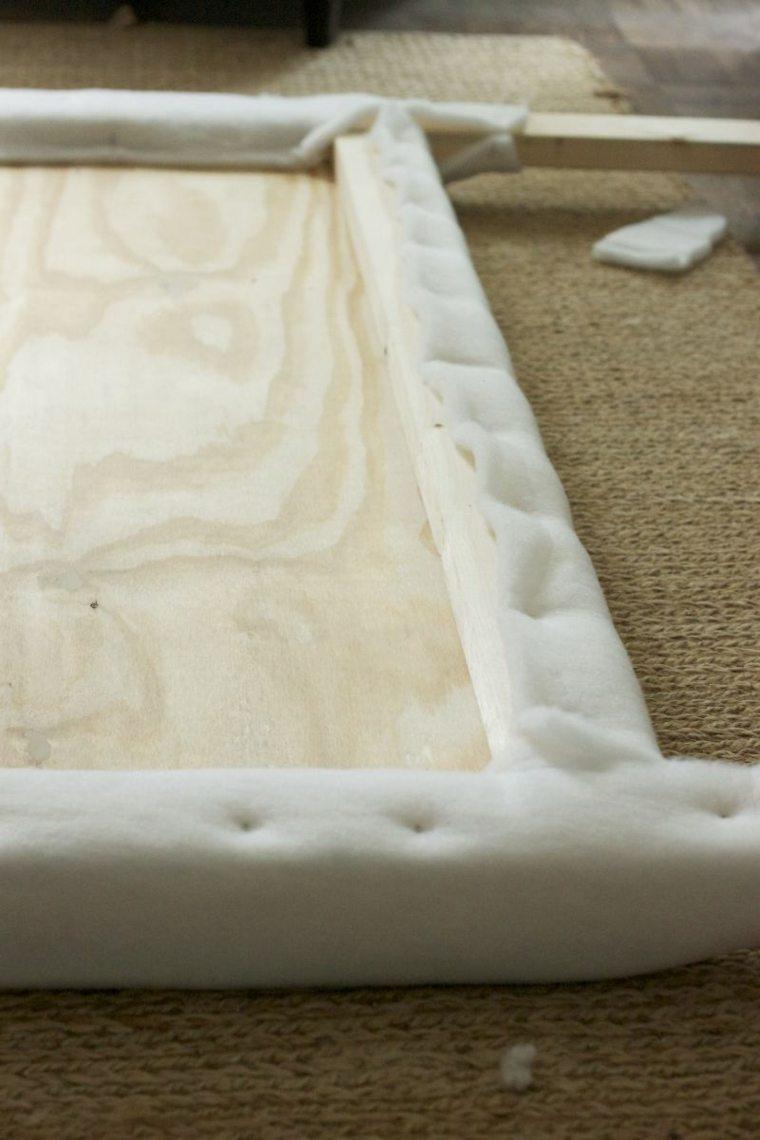 Como Tapizar Un Cabecero Cincuenta Ideas Originales - Como-tapizar-cabecero