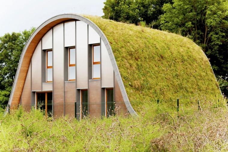 francia original diseño casa verde