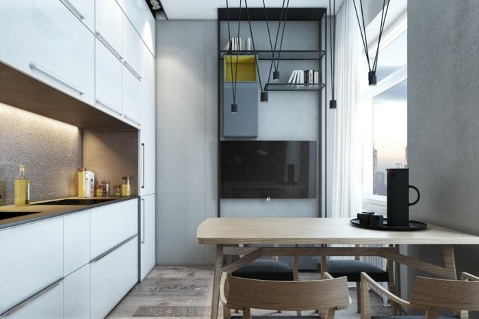 funcionales salones estilos paredes maderas
