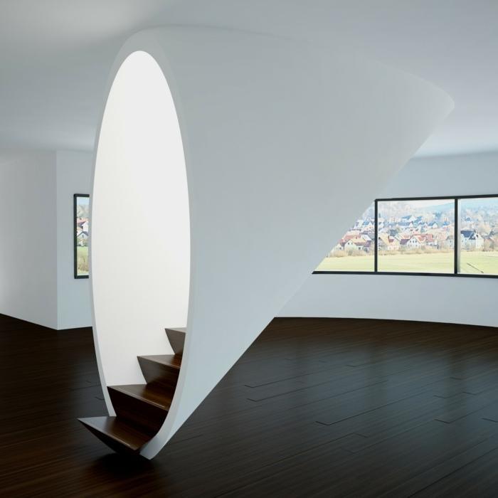 futuristas muebles salas colores ventanales