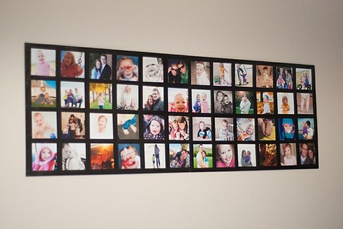 galeria de fotos colorido estilos paredes lineas