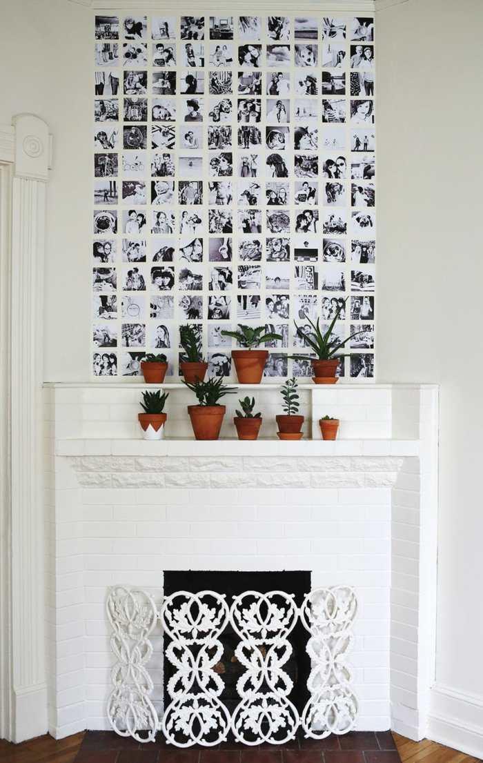galeria de fotos estilos chimeneas maderas macetas