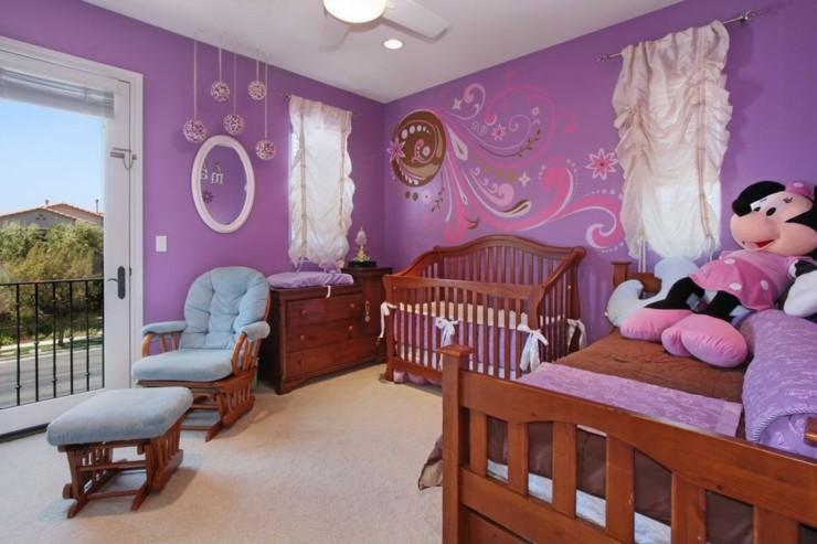 Habitacion bebe niña y creatividad en 50 variantes de diseño.
