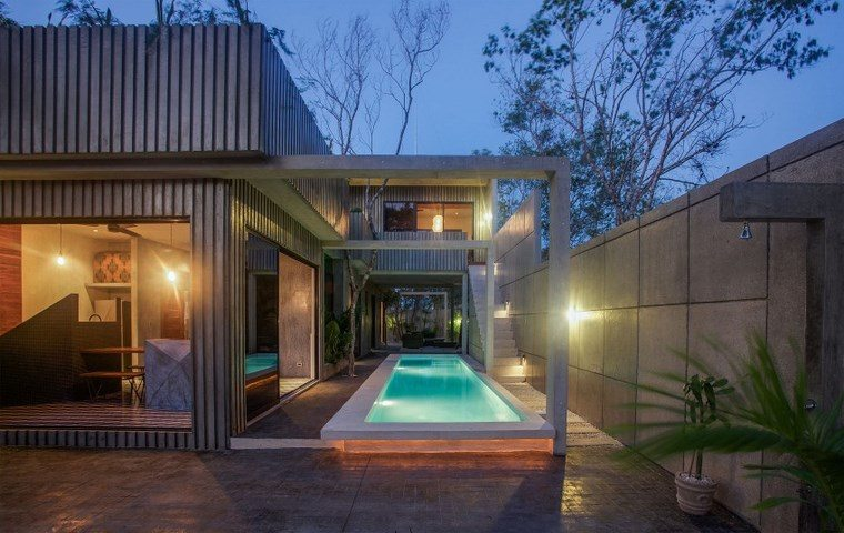 hogar diseno mexico jardin amplio moderno