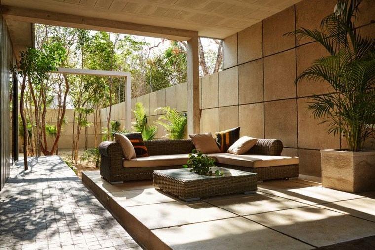 hogar diseno mexico jardin muebles rattan ideas