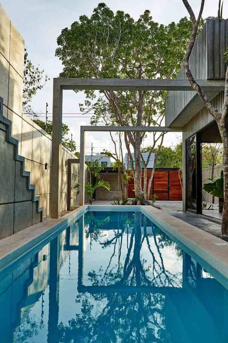 diseno mexico jardin piscina ideas