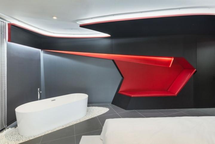 hotel diseño detalles bañeras salas gravas