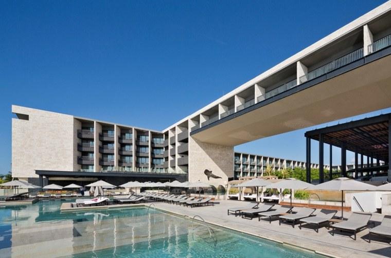 hoteles con encanto diseños pendientes piscinas