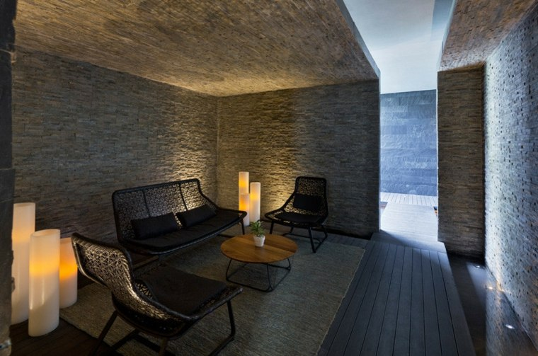 hoteles con encanto diseños salones romaticos velas