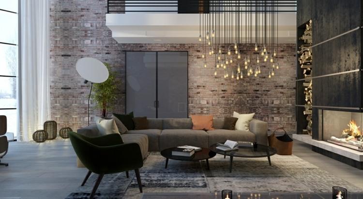 iluminacion diseño cortinas muebles plantas