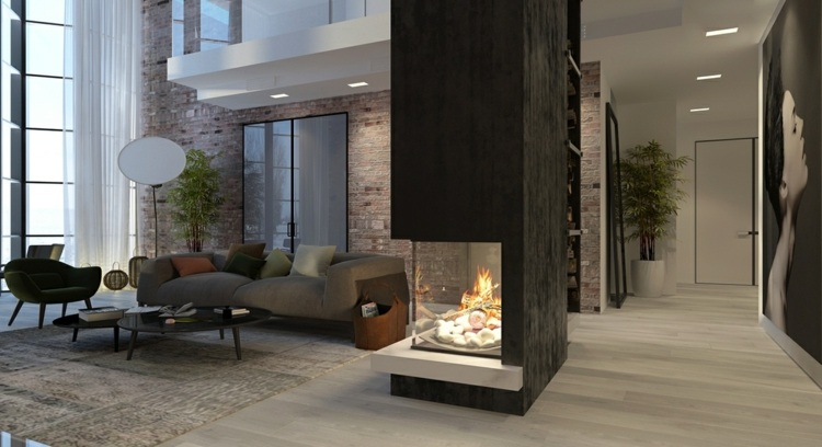 iluminacion diseño ladrillos salas paso