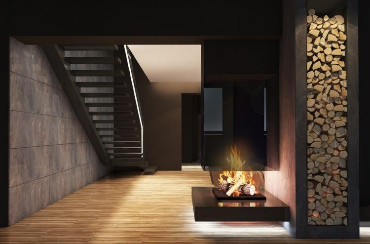 iluminacion diseño musica objetos salones leña