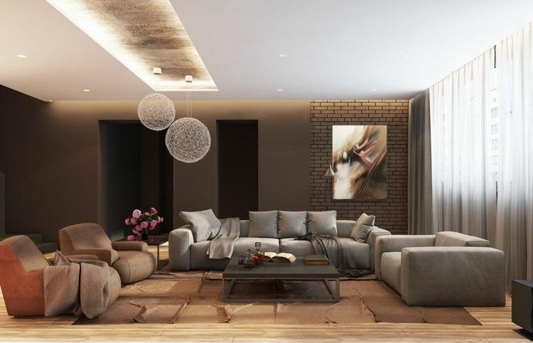 iluminacion diseño salones alfombras acuerdos sofa