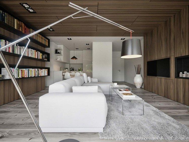 iluminacion diseño salones alfombras metales