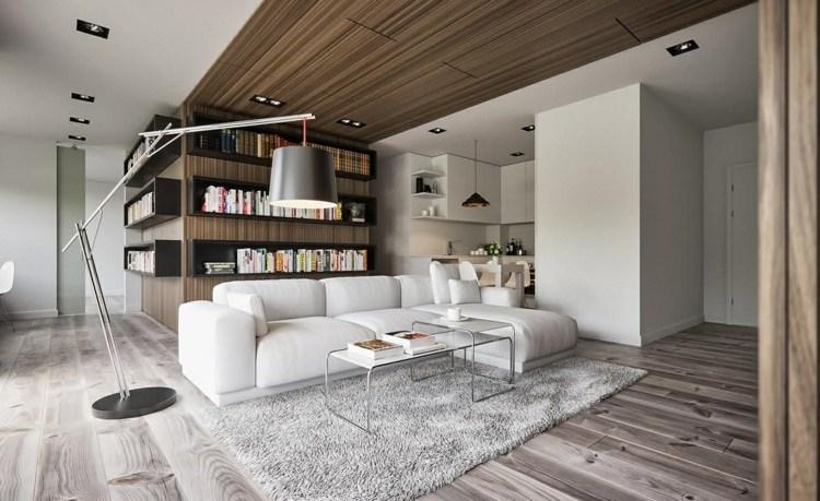 iluminacion diseño salones puertas salas madera