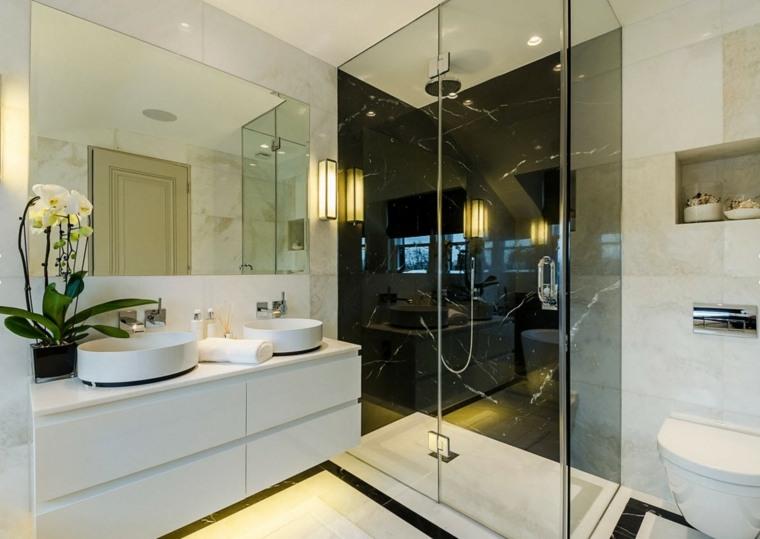 Baños Modernos En Marmol ~ Dikidu.com
