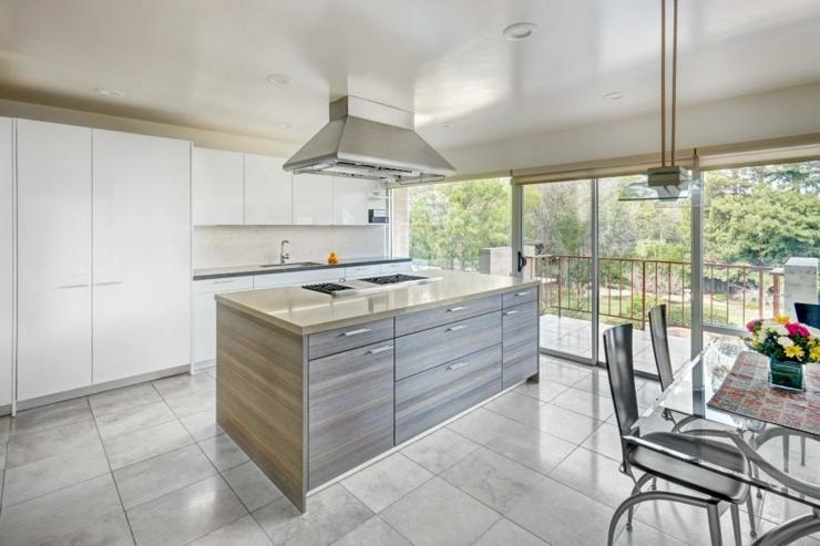 imagenes cocinas modernas colgantes pendientes mesas