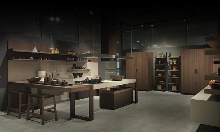 imagenes cocinas modernas colores maderas lineas