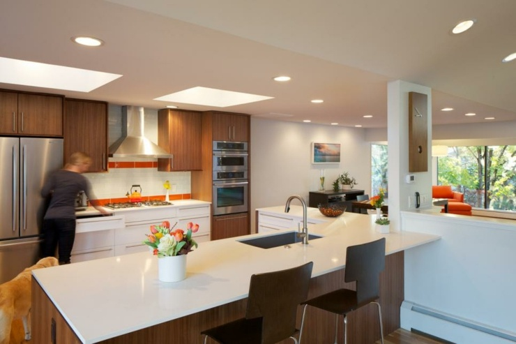 imagenes cocinas modernas ideas maderas colores