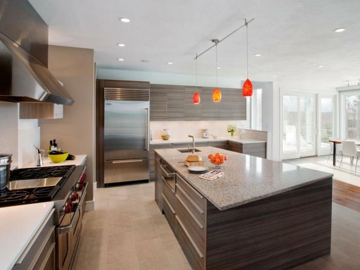 imagenes cocinas modernas lamparas salones luces