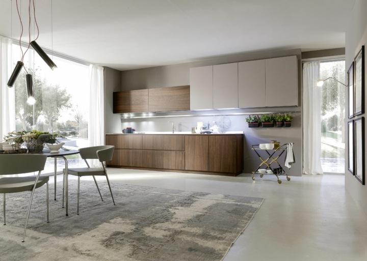 imagenes cocinas modernas luminosas salones abierta